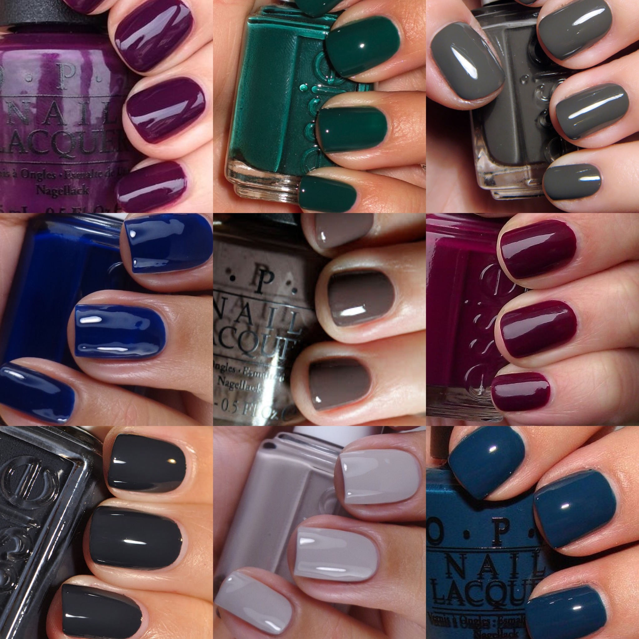 Nail Color Trend: FALL Nail Color Trends