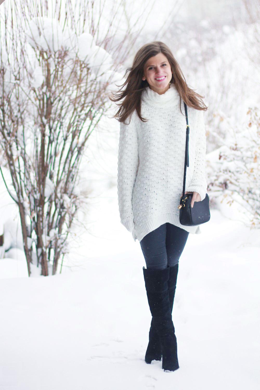 Black Snow Boots Fashion