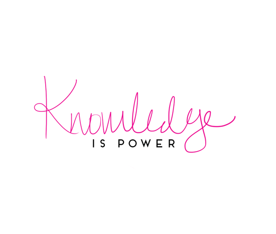 Knowledge is the only power