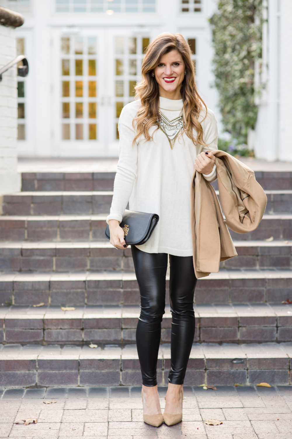 Faux Leather Leggings Winter Date Night Outfit-152