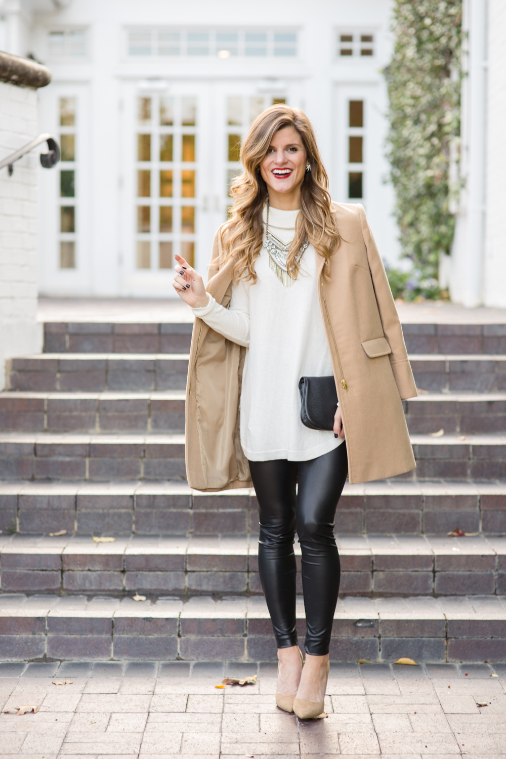 aa144383 faux leather leggings outfits, winter date night outfits, what to wear on a  date
