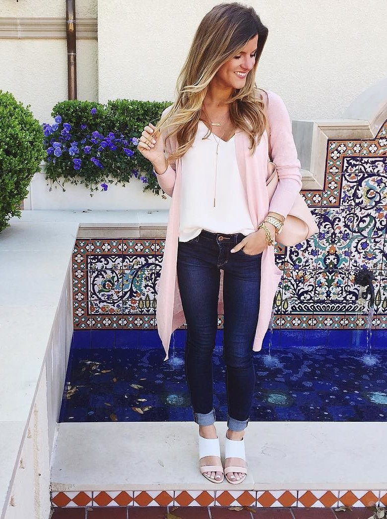 60135ad66b3 Cardigan Outfits    Ways To Wear Long Cardigans in Spring
