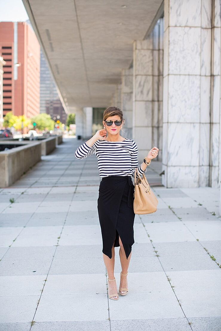 Pencil Skirt Style From Day To Night | BrightonTheDay