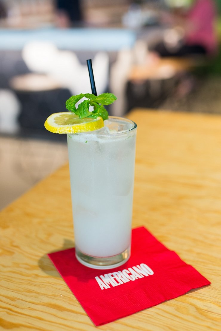 Where to grab a drink in Dallas: Americano, Orzata Limonata