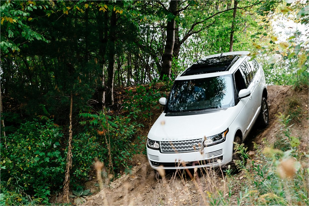 Land Rover Driving Experience in Manchester, VT