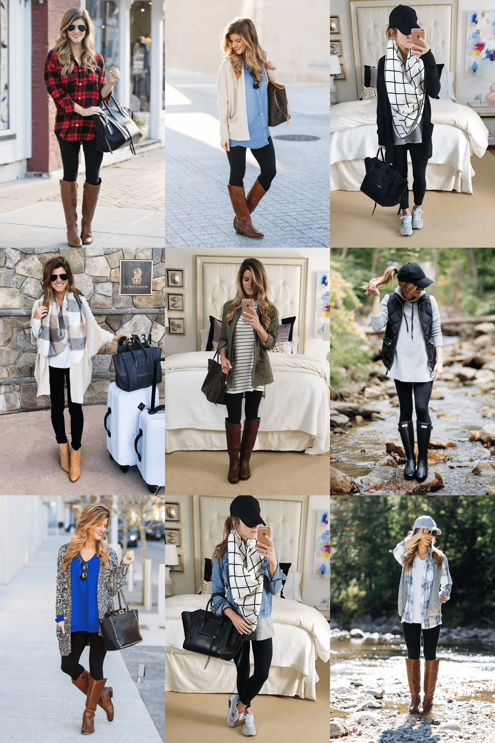 9e40fbbc6c What To Wear With Leggings + 7 Style Tips on How To Wear Leggings