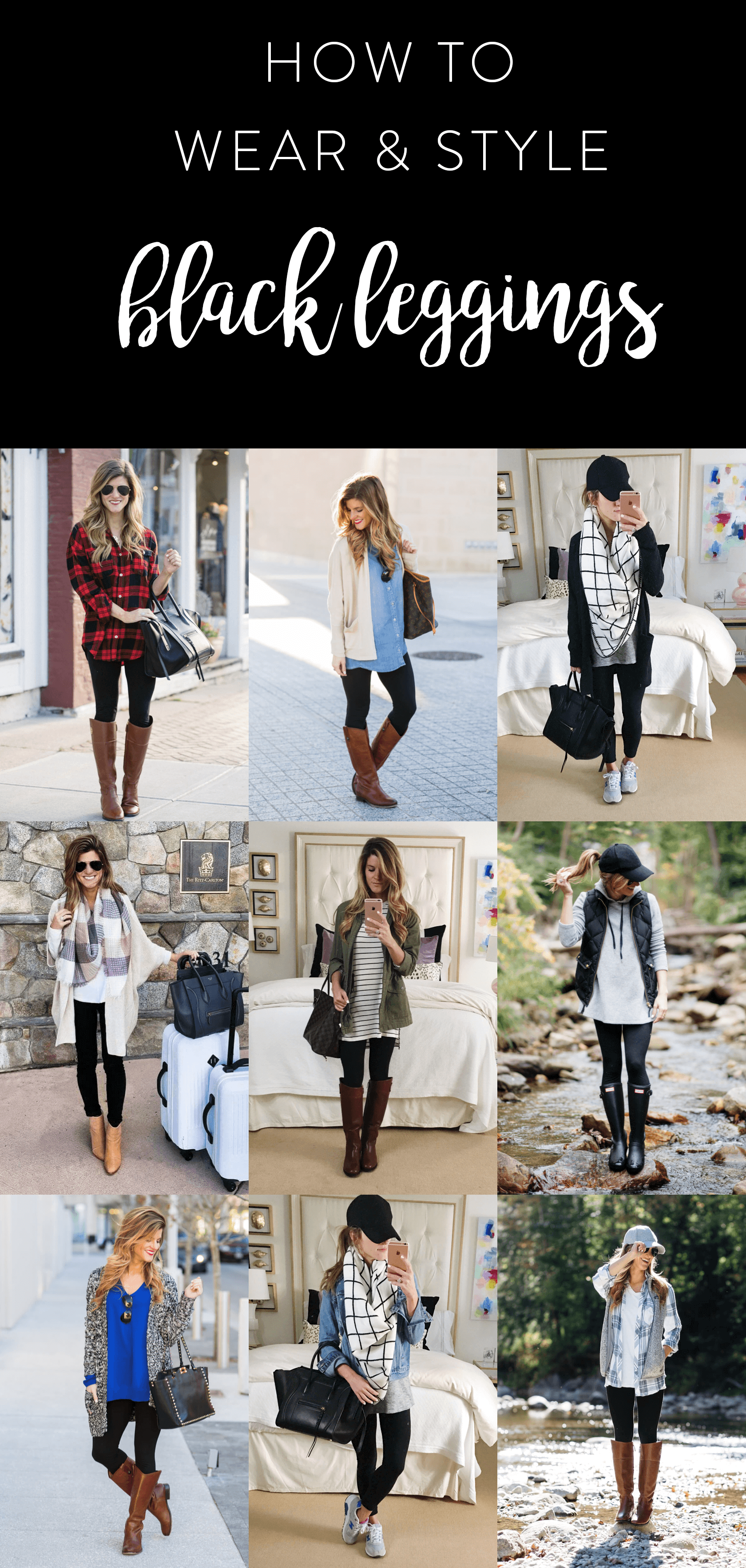 9752c6f8 what to wear with leggings, how to wear leggings, 20+ outfit ideas with