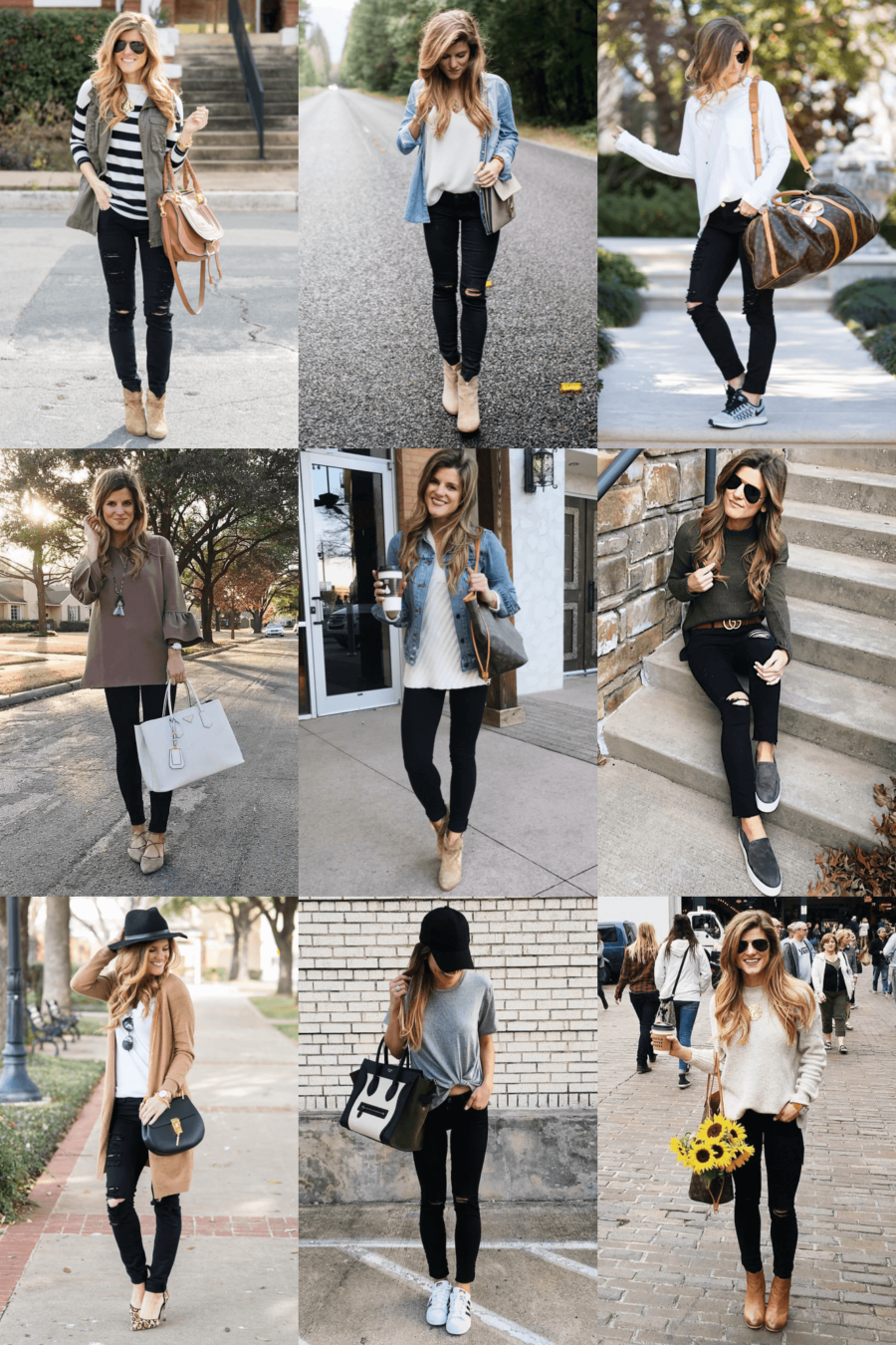 wholesale dealer 08a07 910a4 What to wear with black jeans - 30+ Black Jeans Outfit Ideas