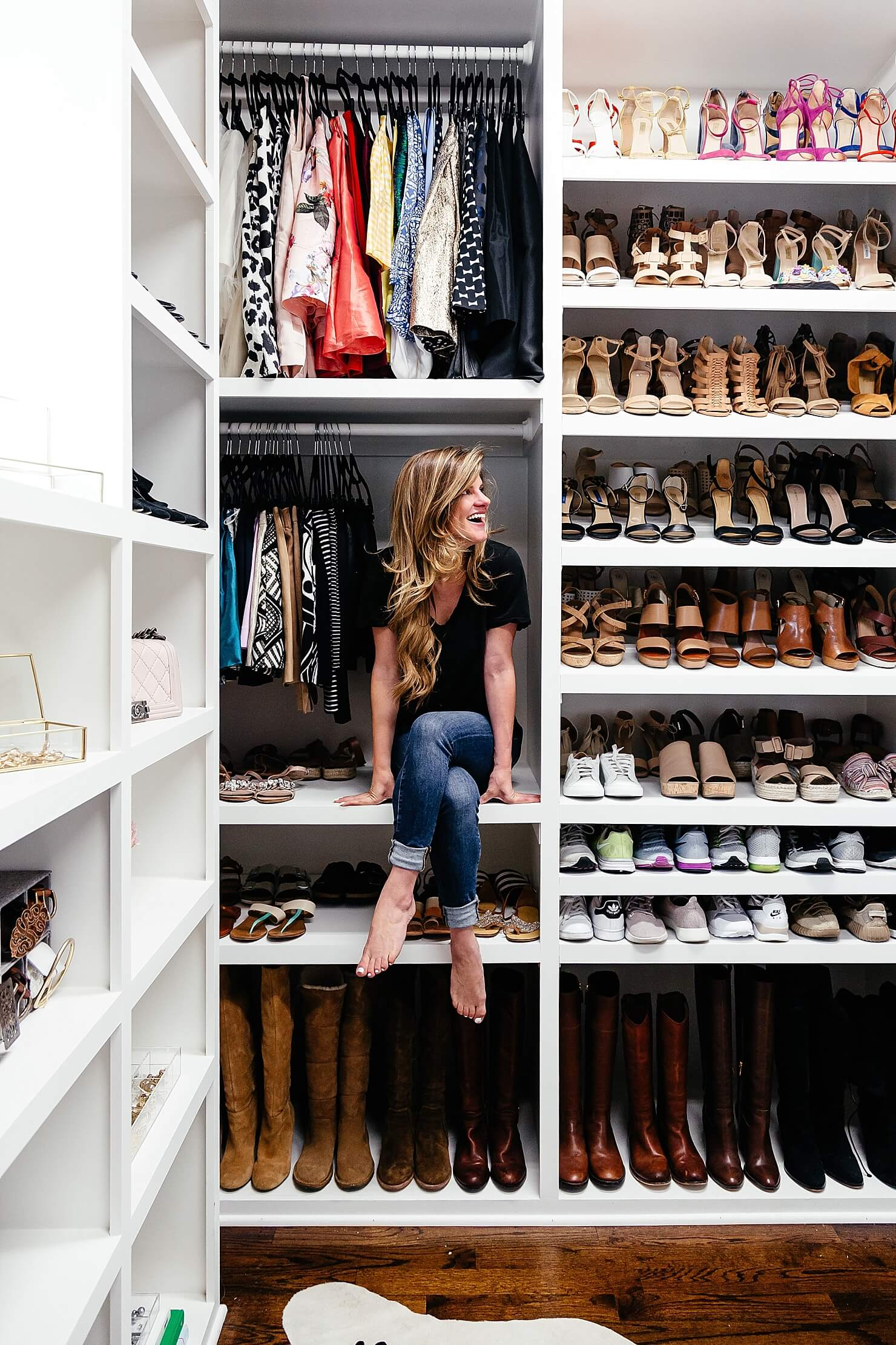 brighton keller new home closet reveal