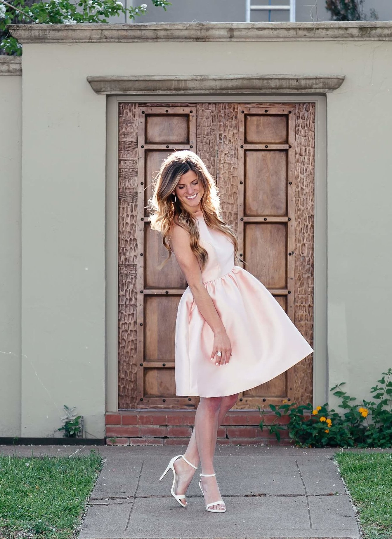 brighton keller styling modcloth fit and flare dress for guest of a wedding outfit ideas, summer wedding dress