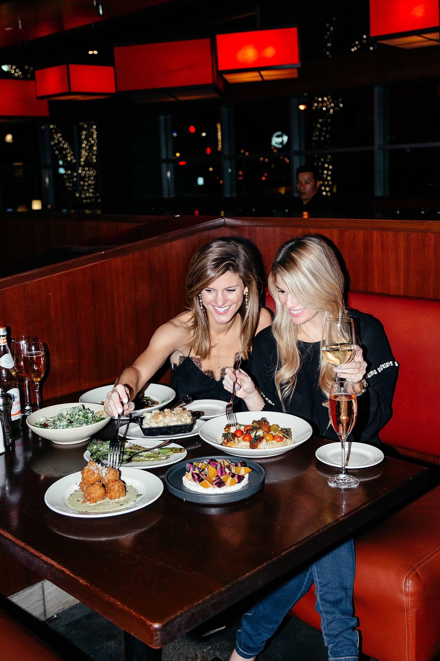 dinner out with Del Frisco's in Dallas