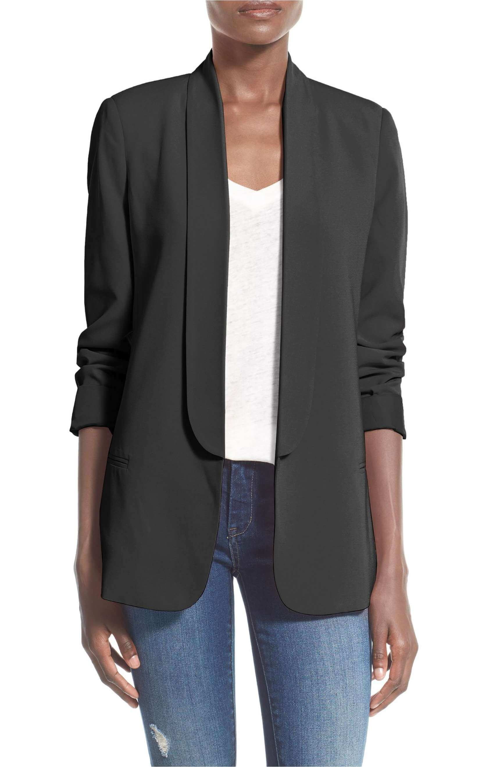 MURAL black blazer from Nordstrom