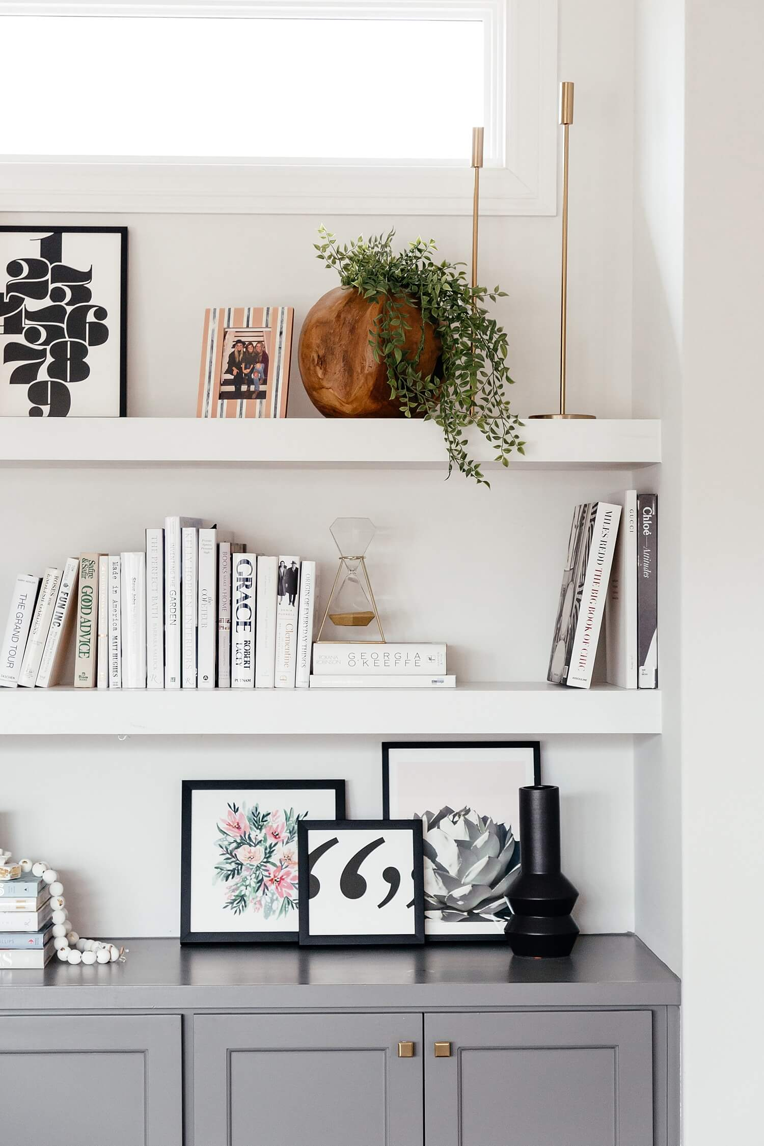 how to style bookshelves, tips for styling your bookshelves