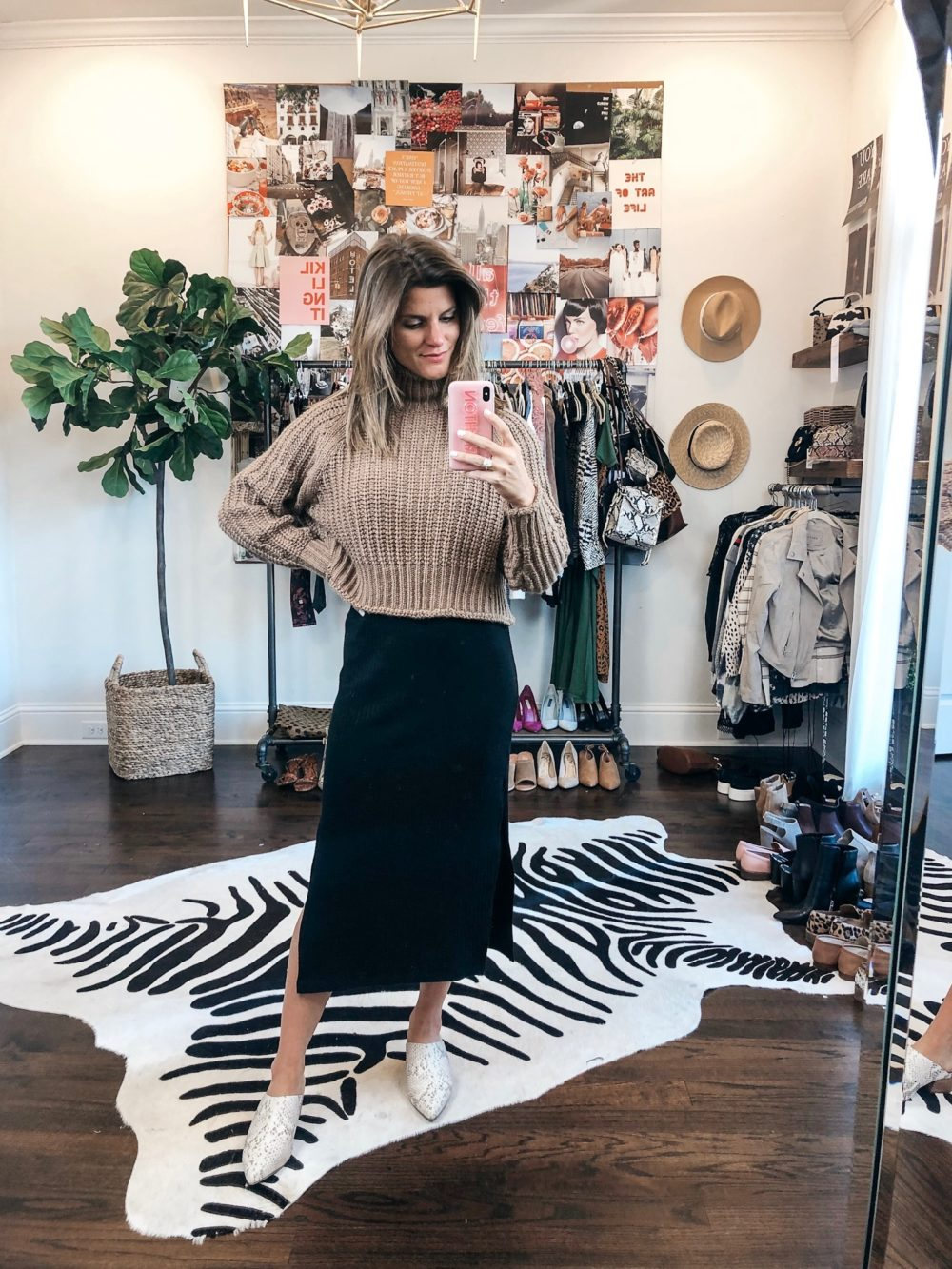 Weekly Outfit Ideas How To Style A Fall Midi Dress