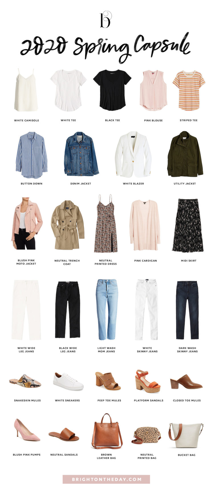 Spring Outfit Ideas: Cute Transitional Outfits for Spring