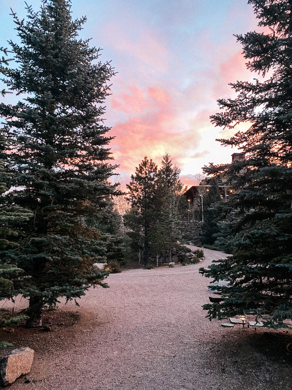 Broadmoor Cloud Camp sunrise