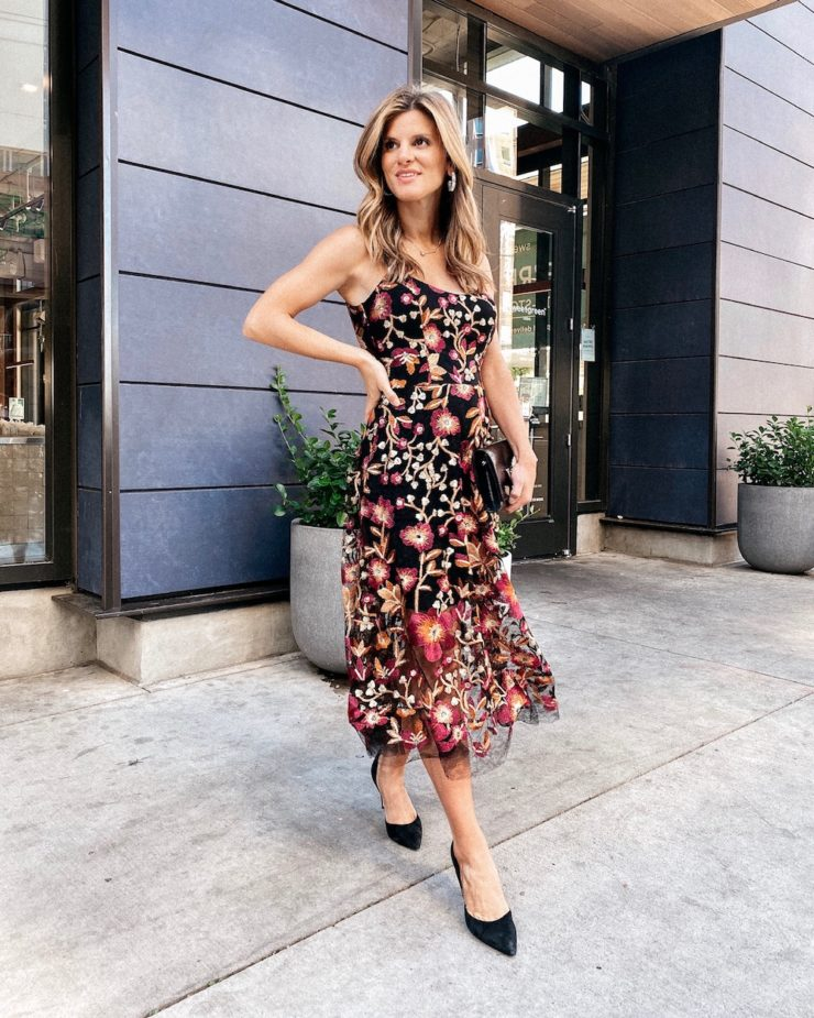 Fall Weddings 2020 Floral Dress the Population