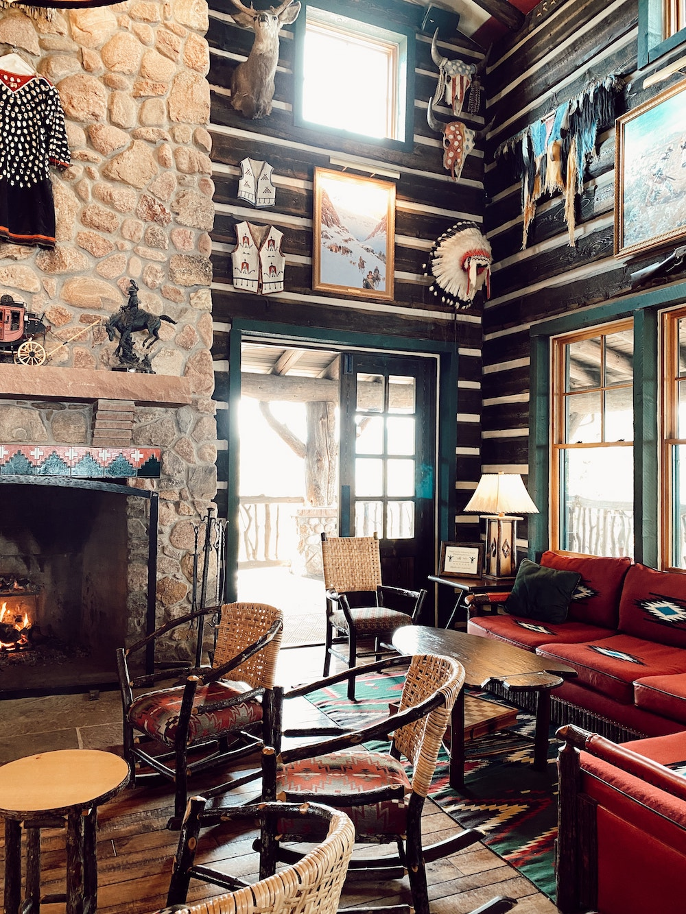 the lodge at Cloud Camp the broadmoor