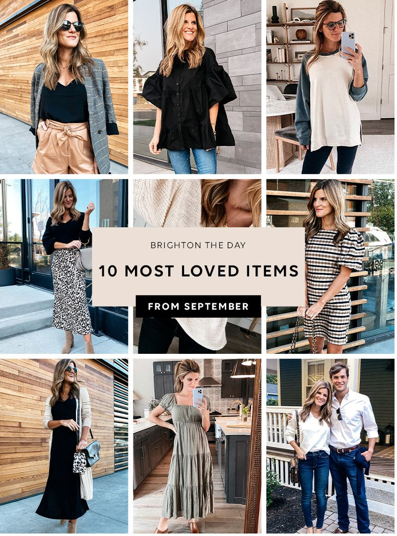 most loved items september