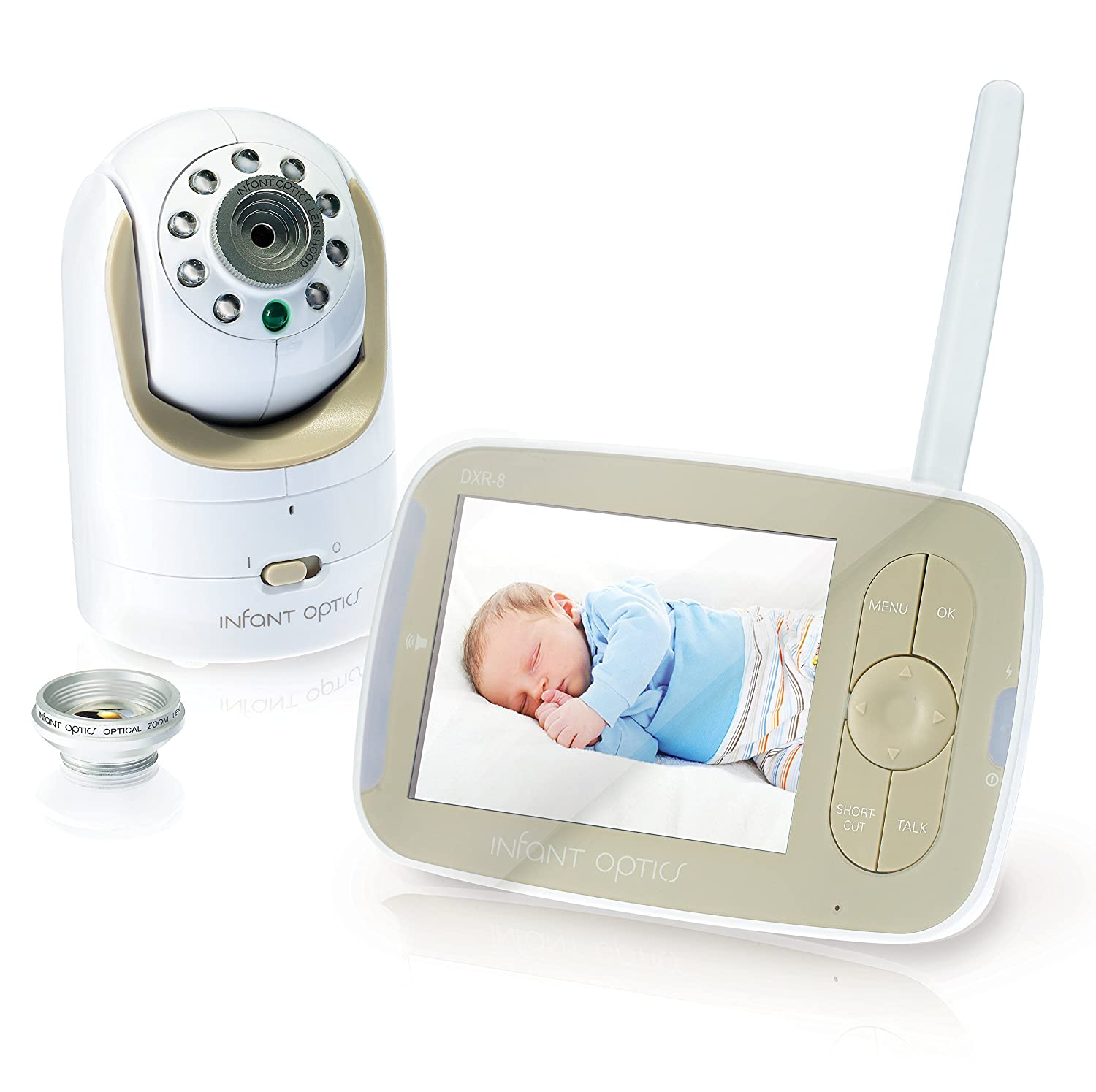 Brighton Butler baby monitor review, infant optics baby monitor