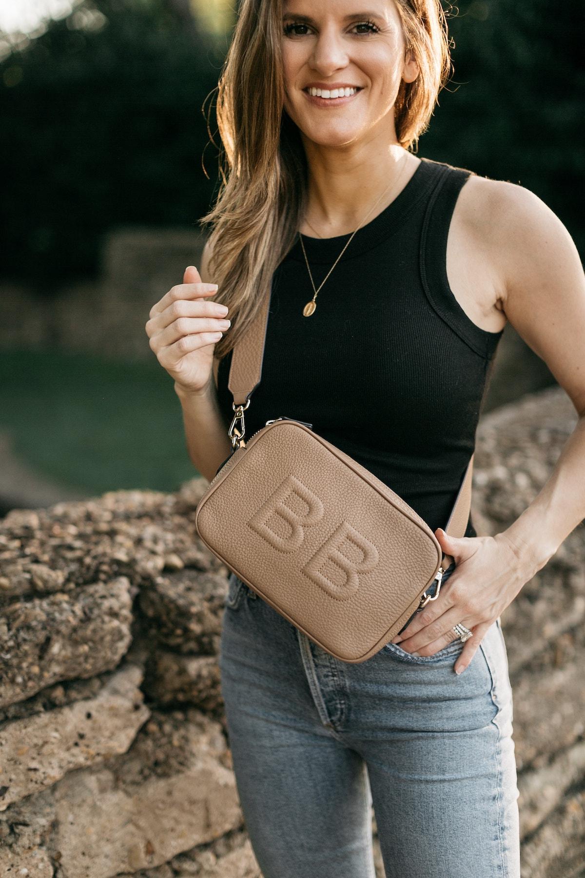 2021 - brighton butler leatherology crossbody bag personalized 3