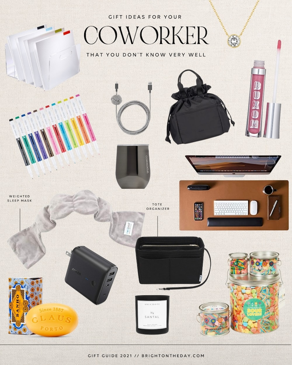 brighton butler gift guide for coworker 2021